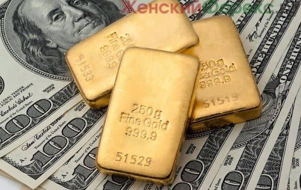 Что влияет на курс золота