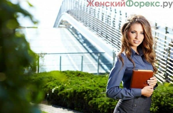 Female businesswoman showing document to man